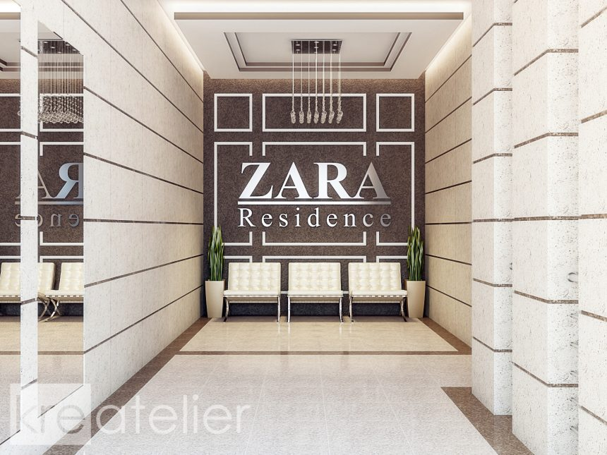ZARA – COMMON AREAS Design In An Apartment Building