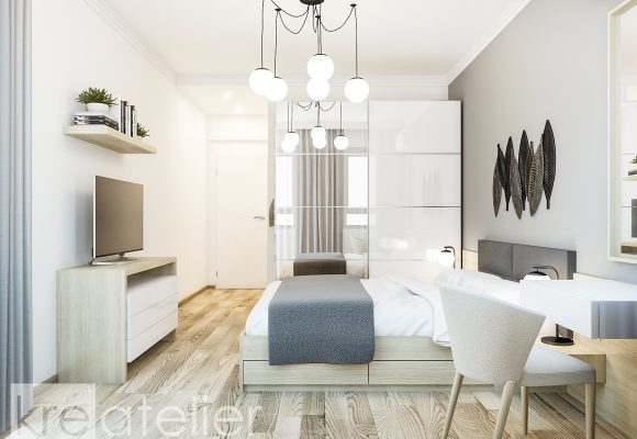 MERIDA – Family APARTMENT Design for a Young Couple